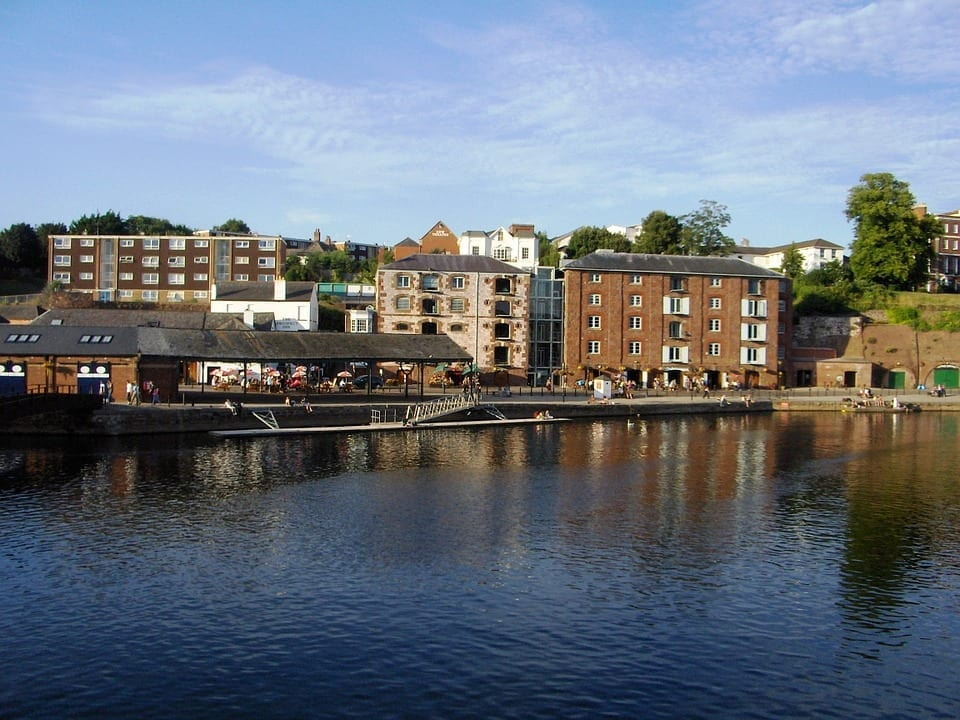 exeter storage river scenic harbourside