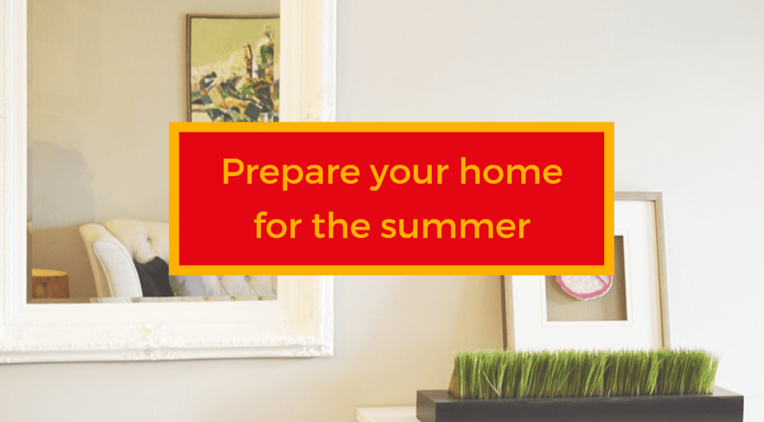 prepare your home for summer