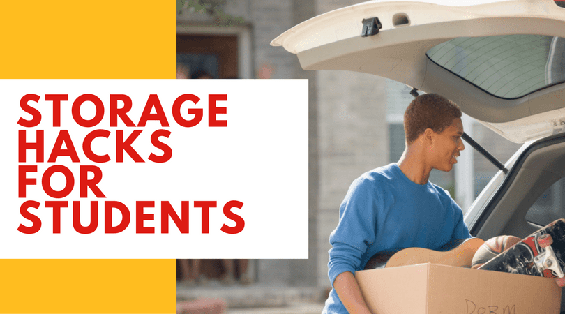 storage hacks for students